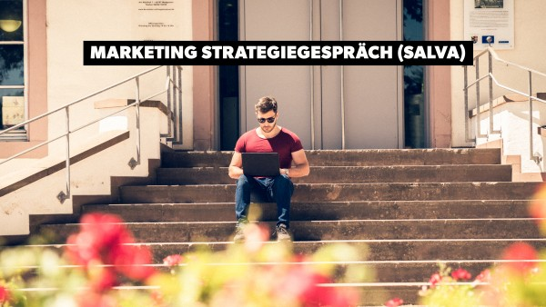 "Marketing Strategie Gespräch ""Sport"" mit Salva"