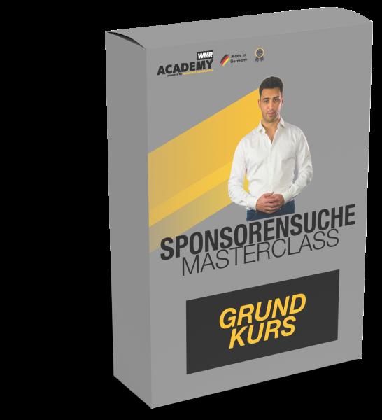 Sponsorensuche Masterclass - Grundkurs